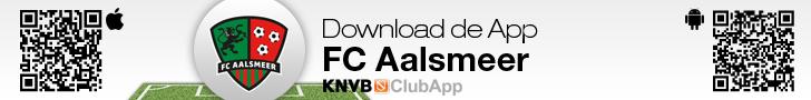 club-banner leaderbord FC Aalsmeer